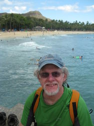Phil on Waikiki Beach