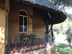 Our Accomodation for four nights. Heia Safari Ranch