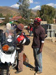 Day Two. Gas Stop in Thaba-Tseka, Lesotho